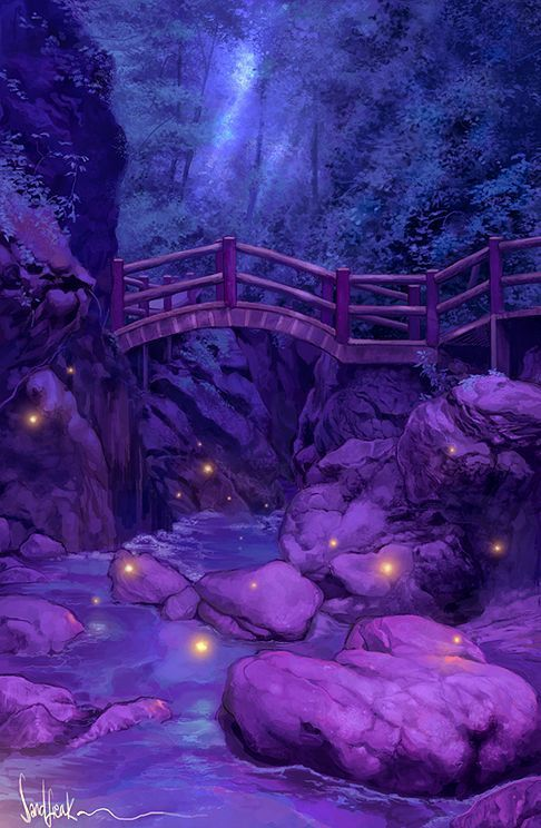 dans fond ecran paysage violet 15aonz64