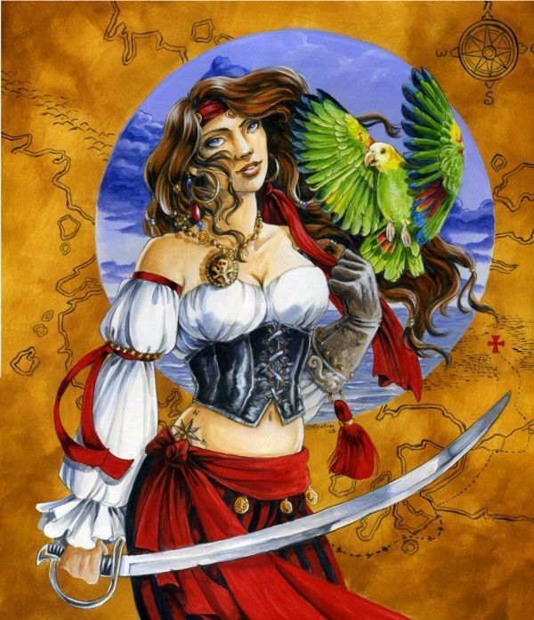 pirate femme