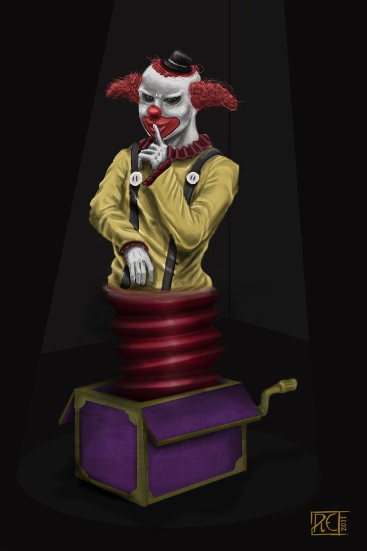 clown sinistre