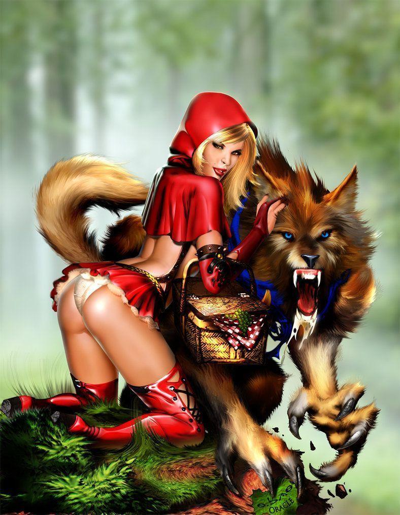 Big bad wolf adult lie