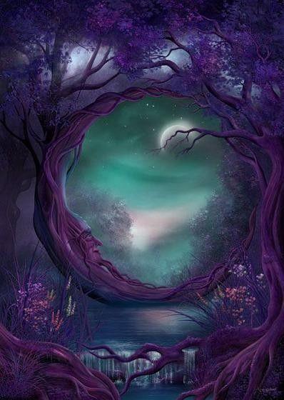 dans fond ecran paysage violet gwcwdr8g