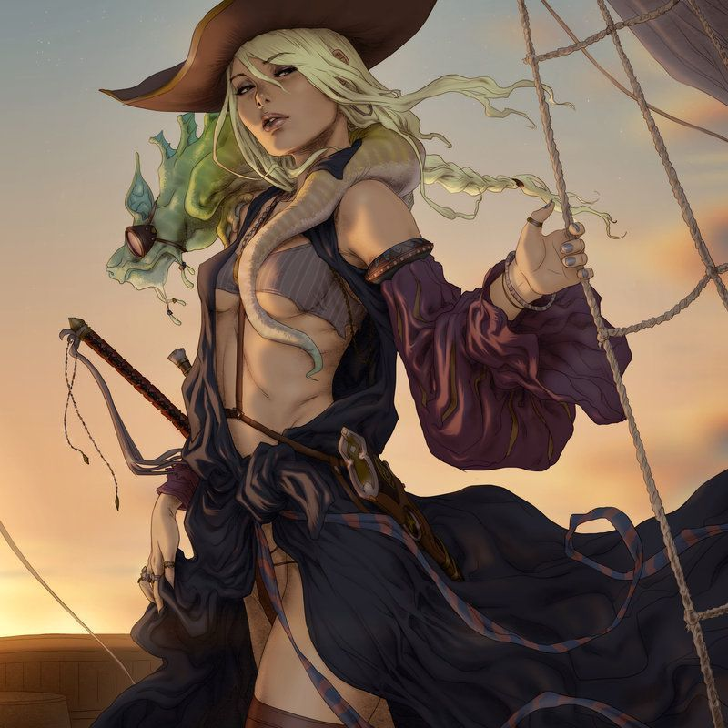femme pirate