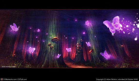dans fond ecran paysage violet ou2j39x9